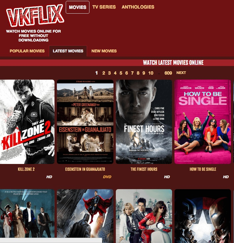 watch movies online free