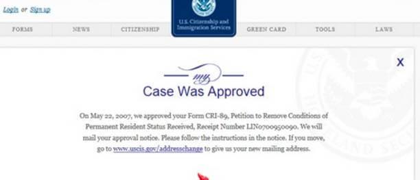 uscis case status online