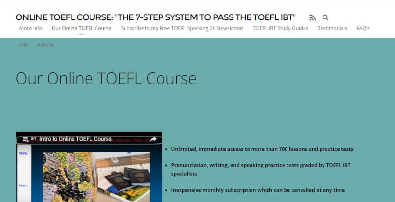 toefl websites