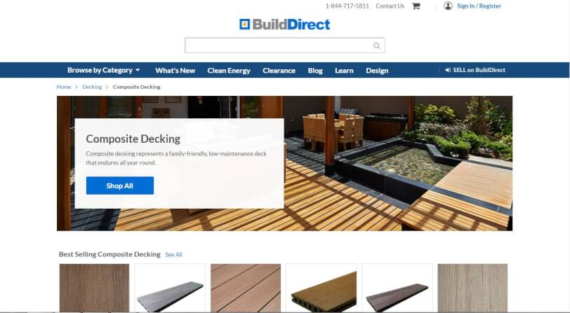best place to buy composite decking