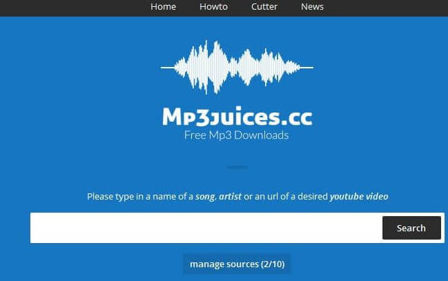 mp3 juice homepage