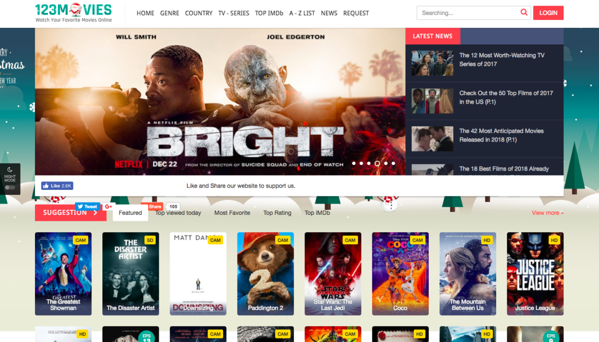 best free movie streaming sites 2018 no sign up
